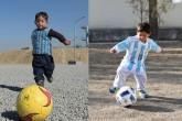"""El pequeño """"Messi afgano"""" huyó de su país tras recibir amenazas"""