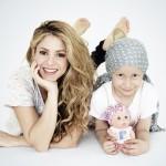 Shakira brinda su apoyo a los niños con cáncer