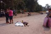 Mujer perece al ser atropellada por camión en Siuna
