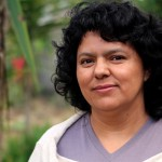 Berta Cáceres era líder indígena lenca y fue asesinada a balazos en la ciudad de La Esperanza, Honduras. LA PRENSA/ARCHIVO
