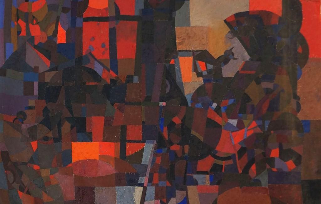 Pintura de Arnolkis Turro. LAPRENSA/ARNULFO AGÜERO