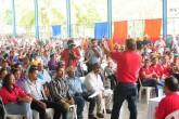 Luis Callejas ya comenzó con sus promesas de Campaña