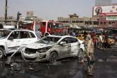 Ola de explosiones deja decenas de víctimas en mercado de Bagdad