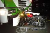 Motociclista muere en choque contra autobús