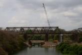 Ya casi está listo el puente Paso Real