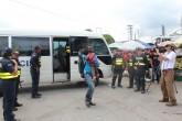Autoridades panameñas regresan 300 migrantes a Colombia