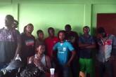 Once africanos abandonados en Nandaime