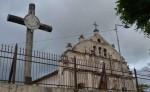 El enverjado de la iglesia Santa Ana de Niquinohomo  es un proyecto gestionado por el cura párroco Javier Solís, en conjunto con la comunidad. LA PRENSA/ N. GALLEGOS