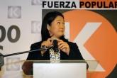 Fujimori rechaza acusaciones que la vinculan con lavado de activos y narcotráfico