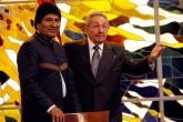 Evo Morales resalta solidaridad de Cuba por condecoración de parte de Castro