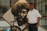 Róger Pérez de la Rocha muestra su pasión por el arte