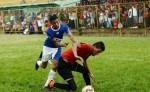 El lateral Roberto Guzmán (3) del América JDE. LAPRENSA/ MAYNOR VALENZUELA.