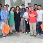Berna González Harbour impartió taller de periodismo en Centroamérica cuenta