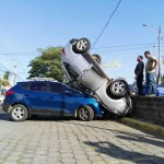 Accidente de tránsito en carretera hacia Masaya