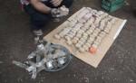 a fabricación y uso de bombas para pescar es una realidad.  A pesar de la vigilancia algunos pescadores siguen usándolas. LA PRENSA/ARCHIVO