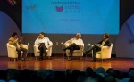 Escritores dialogaron sobre Cervantes y Darío y reflexionaron  sobre su vigencia en la escritura hispanoamericana. LAPRENSA/YADER FLORES