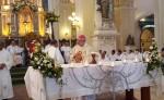 Monseñor César Bosco Vivas Robelo, obispo de la Diócesis de León y Chinandega, celebra  25 años de de obispado en León. LA PRENSA/EDDY LÓPEZ