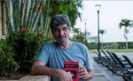 Jaques Aubergy, editor de la antología de narradores centroamericanos. LAPRENSA/JORGE TORRES