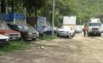 Las  camionetas,  según sus dueños, están siendo desmanteladas en la Aduana de El Espino. LA PRENSA/ARCHIVO/R. MORA