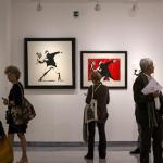 Banksy muestra su arte callejero en un museo