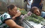 Familiares de Xiomara Cruz, exigieron justicia por la muerte de la joven esteliana. LA PRENSA/R.MORA