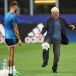 Richard Gere viaja a Milán para disfrutar de la Liga de campeones