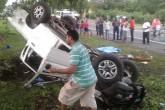 Madre fallece en accidente de tránsito en Chinandega