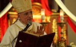 La basílica Menor de la Asunción de Masaya, acogió a monseñor Silvio Báez, quien celebrara su séptimo aniversario de Episcopado. LA PRENSA/CORTESÍA