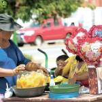 Duro trabajo en Día de las Madres en Nicaragua