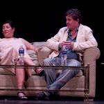 Luis García Montero y Almudena Grandes elogian a Cervantes de novelista moderno