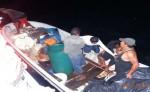 Miembros de la Fuerza naval rescatan lancha con seis tripulantes que iba rumbo a Puerto Cabezas, pero no llegó a destino. LA PRENSA/CORTESÍA