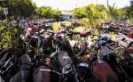 El Depósito Vehicular de Managua se ha saturado de motos, carros y camiones. LA PRENSA/ aRCHIVO