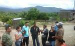 Una Comisión, encabezada por la alcaldesa de Ocotal, evalúa daños en la ciudad luego de las lluvias. LA PRENSA/A.LORÍO