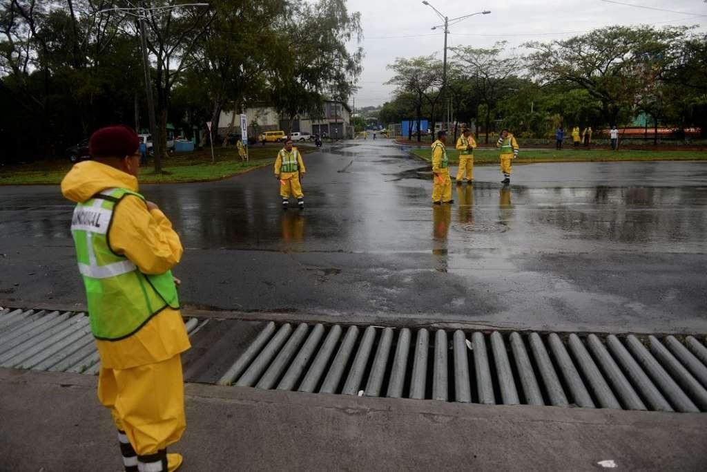 Medidas de seguridad adoptadas por el FSLN mientras se realizaba el congreso de su partido en Managua este 4 de junio del 2016. LA PRENSA/Manuel Esquivel.