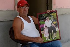 Managua 8 de Junio del 2016 Rito Cruz padre de Xiomara Cruz, joven asesinada en Esteli, por Rodolfo Jose Valenzuela, alias el popo. Foto Jader Flores/LA PRENSA