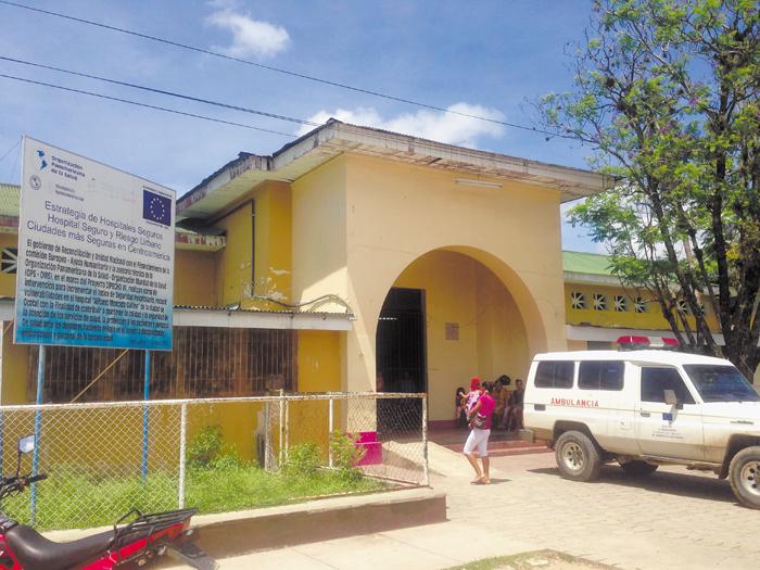 El hospital de Ocotal se encuentra muy deteriorado.  Es de referencia departamental. LA PRENSA/A. LORÍO