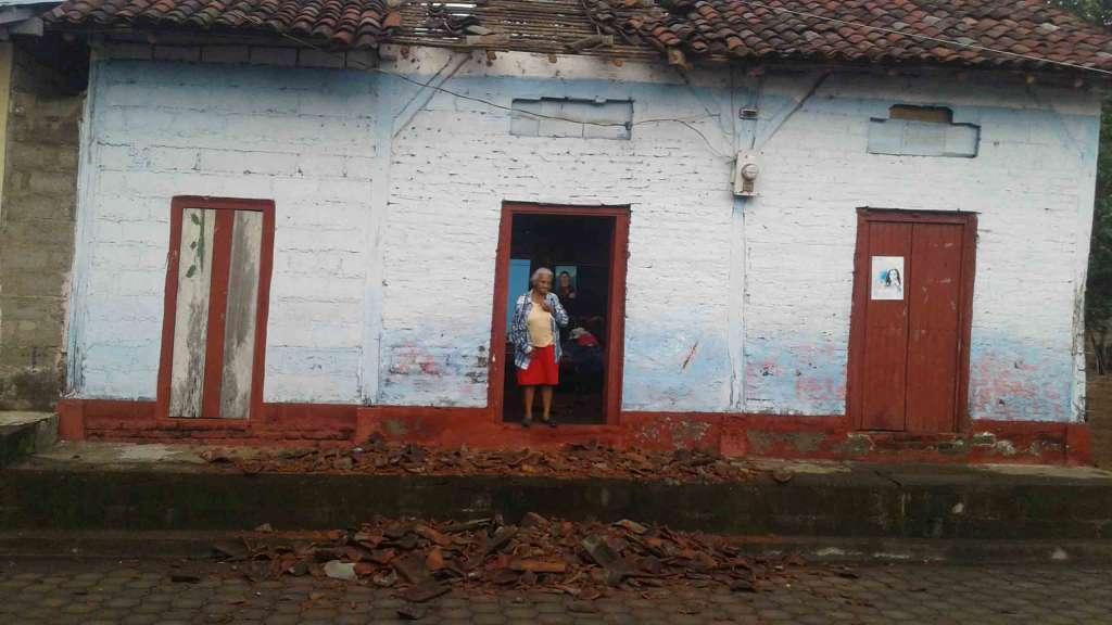 Réplicas del terremoto en Puerto Morazán siguen - La Prensa (Nicaragua)