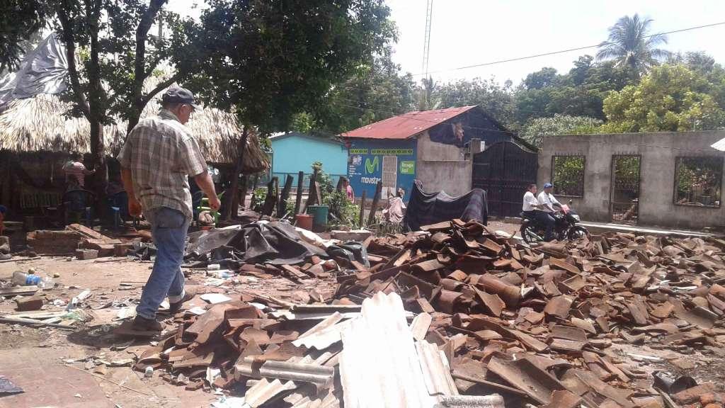 Temor por sismos en Puerto Morazán - La Prensa (Nicaragua)