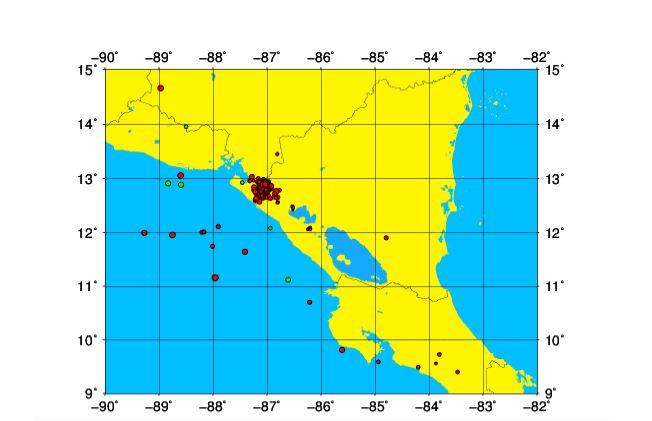 Réplicas de sismo en Puerto Morazán continúan - La Prensa (Nicaragua)