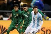 Argentina golea a Bolivia pero Messi no marca