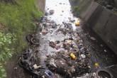 Cauces están llenos de basura