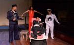 Escenas de La última travesía, drama sobre Rubén Darío, actuado por José Arias, Salomón Alarcón, Carlos Hernández y Ariel Aguirre. LA PRENSA/ Roberto Fonseca