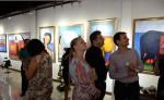 Muestra de esculturas en el centro Efrén Medina Gallery. LAPRENSA/ROBERTO FONSECA
