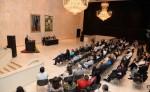 Familiares de Rubén Darío y académicos asisten al homenaje a Rubén Darío en el Centenario de su muerte. LA PRENSA/JORGE TORREZ