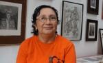Carolina Florez, maestra de grabado. LAPRENSA/ARNULFO AGÜERO