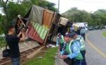 Vuelco de camión deja un muerto en Estelí. LA PRENSA/R. MORA