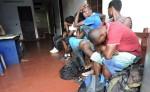 Los migrantes africanos fueron regresados a la frontera sur de Nicaragua. LA PRENSA/M. García