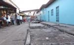 Los vecinos del reparto San Juan de Jinotepe celebran el traslado de los comerciantes al nuevo mercado municipal. LA PRENSA/ M. GARCÍA