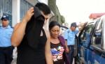 Marlon Estuardo Osorio (guatemalteco) y  Ángela Fonseca García (nicaragüense) declarados culpables hoy por el delito de trata de personas. LA PRENSA/A. LORÍO