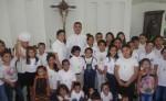 El Ministerio de Jesús y María,  también catequiza y realiza obras sociales y pro de la niñez de escasos recursos. LA PRENSA/ CORTESÍA